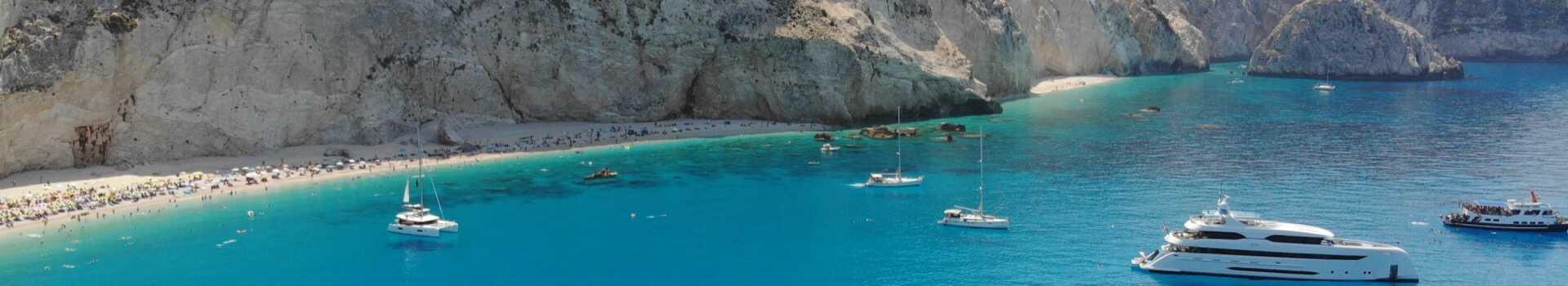 Řecko, Lefkáda, pláž Porto Katsiki7
