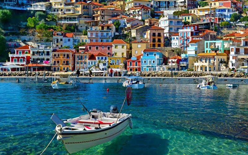 Řecko, Parga, Letovisko