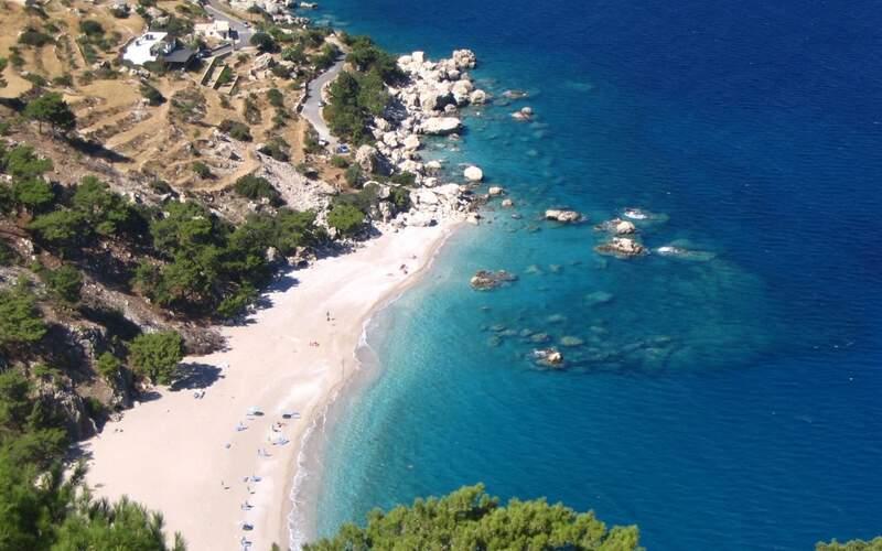 Řecko, Karpathos, Pláž Apela