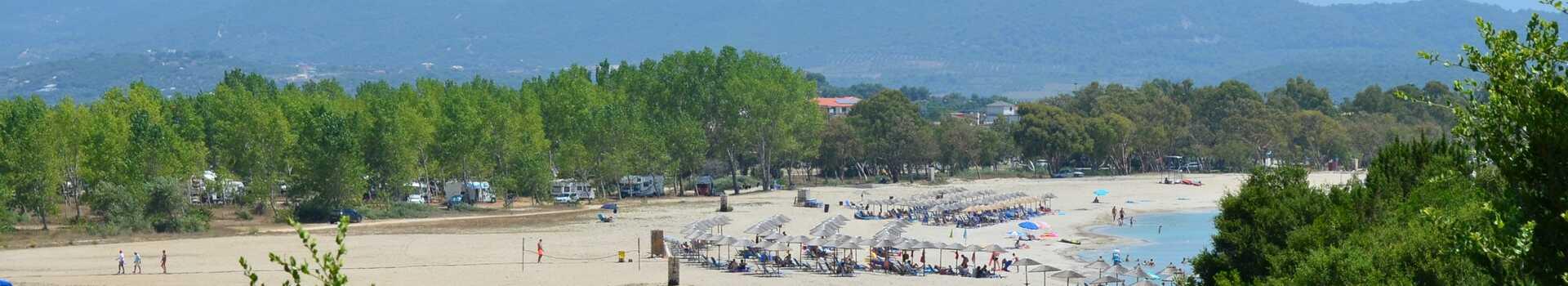 Řecko, Parga, Ammoudia, Pláž (9)