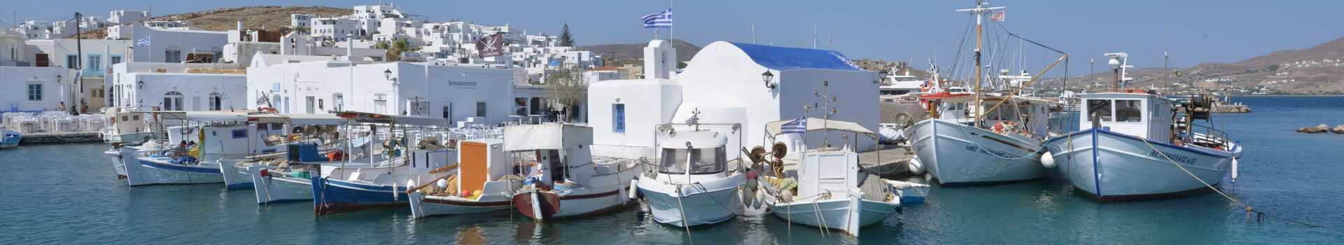 Řecko, Paros, Letovisko Naoussa