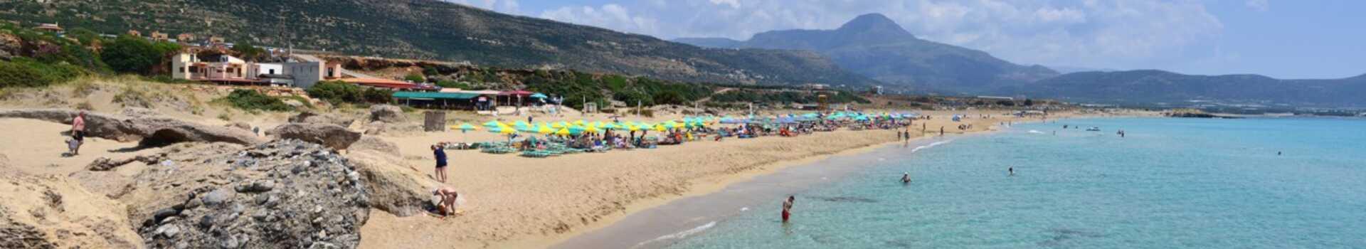 Řecko, Kréta, Pláž Fallasarna (13)