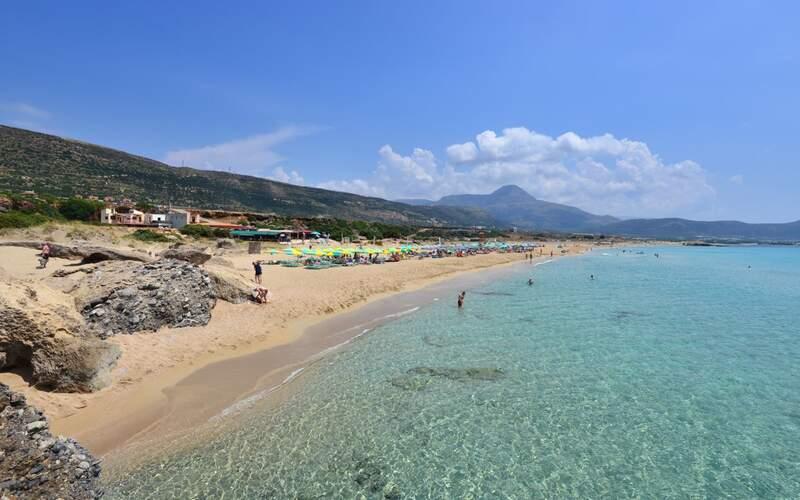 Řecko, Kréta, Pláž Fallasarna